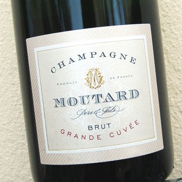 Champagne Moutard Grande Cuvée NV (6 bottle case)