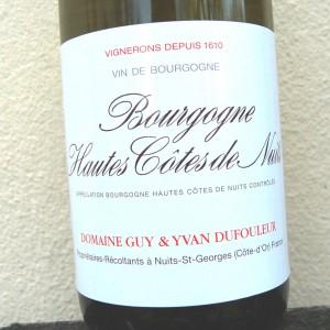 Guy & Yvan Dufouleur Hautes Cotes de Nuits Blanc (6 bottles)