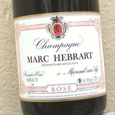 Champagne M Hébrart Premier Cru Rosé NV (6 bottles)
