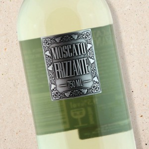 Metal Label Moscato Frizzante 2014 Berton Vineyards (6 bottle case)