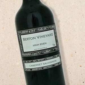 High Eden Cabernet Sauvignon 2009 Berton Vineyard | Strictly Wine (6 bottle case)