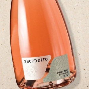 Pinot Blush Spumante NV Sacchetto