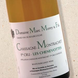 Domaine Marc Morey Chassagne Montrachet 1er Cru Les Chenevottes 2018