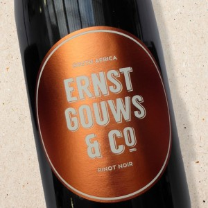 Pinot Noir Ernst Gouws & Co