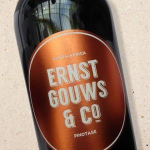 Pinotage Ernst Gouws & Co Stellenbosch