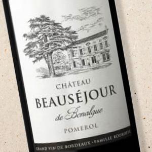 Château Beausejour de Bonalgue, Pomerol, Bordeaux