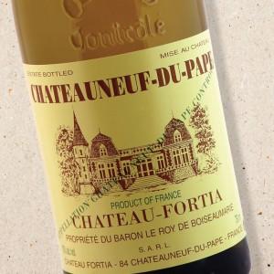 Château Fortia Châteauneuf du Pape Blanc 2019