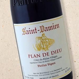 Saint Damien Cotes du Rhone Villages Plan de Dieu Vieilles Vignes