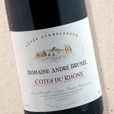 Domaine André Brunel Cuvee Sommelongue Côtes du Rhône