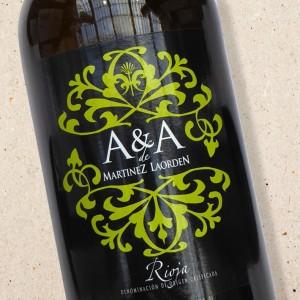 Bodegas Martinez Laorden A & A Blanco Rioja