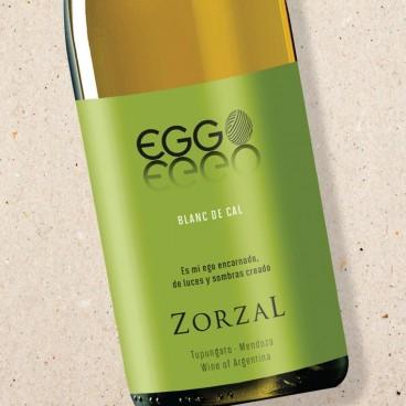 Zorzal Eggo Blanc de Cal Sauvignon Blanc