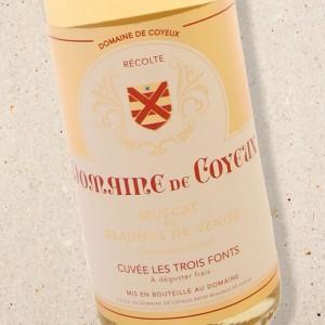 Domaine de Coyeux Muscat de Beaumes de Venise Cuvée Les Trois Fonts