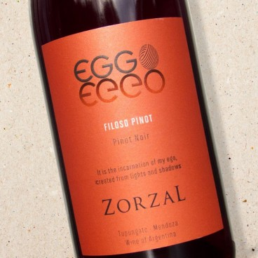Zorzal Eggo Filoso Pinot Noir