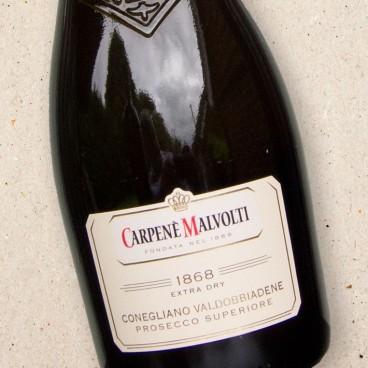 Carpene Malvolti Prosecco di Conegliano 1868 Extra Dry