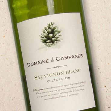 Domaine de Campanes Sauvignon Blanc Cuvee le Pin