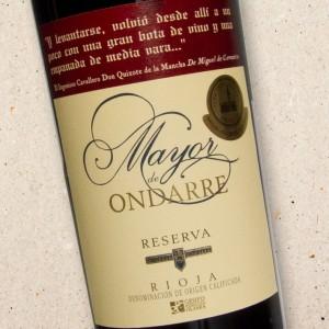 Mayor de Ondarre Reserva Bodegas Ondarre Rioja