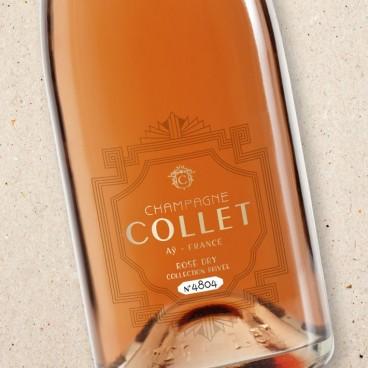 Champagne Collet Rosé Dry NV