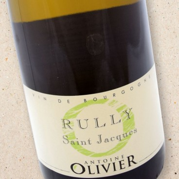 Rully Saint Jacques Domaine Antoine Olivier