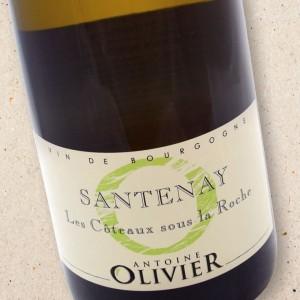 Santenay Les Coteaux sous la Roche Domaine Antoine Olivier 2015