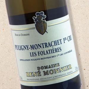 Puligny Montrachet 1er Cru Les Folatières Domaine René Monnier 2017