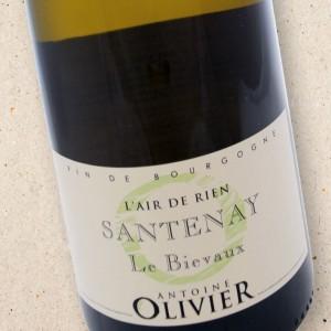 L'Air de Rien Santenay le Biévaux Domaine Antoine Olivier
