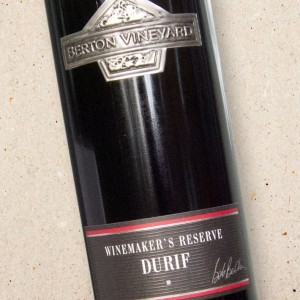 Winemakers Reserve Durif Berton Vineyard