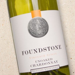 Foundstone Unoaked Chardonnay Berton Vineyards