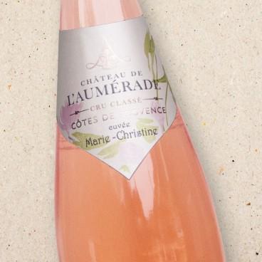 Chateau de l'Aumerade Cotes de Provence Cru Classé Rosé Cuvée Marie-Christine halves