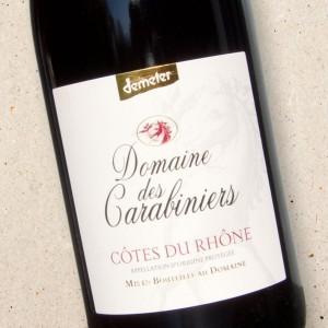 Côtes du Rhône Rouge Domaine des Carabiniers 2019