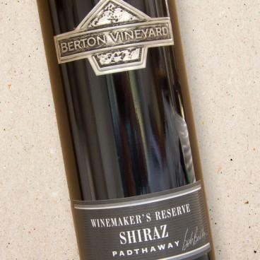 Winemakers Reserve Shiraz Padthaway Berton Vineyard