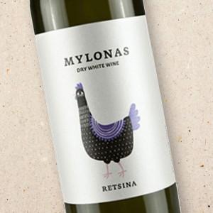 Mylonas Retsina