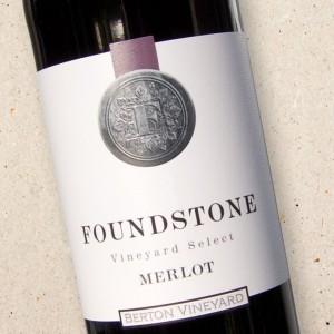 Foundstone Merlot Berton Vineyards