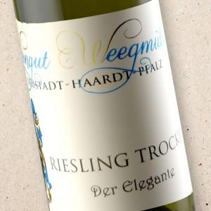 Weegmuller Riesling Mandelring 'Der Elegante' Kabinett Trocken