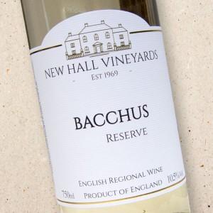 New Hall Vineyards Bacchus Reserve 2019