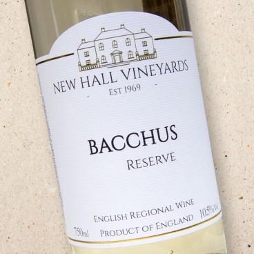 New Hall Vineyards Bacchus Reserve