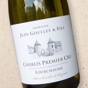 Domaine Jean Goulley Chablis 1er Cru Fourchaume 2018