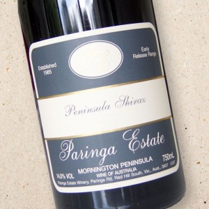 Paringa Estate Peninsula Shiraz