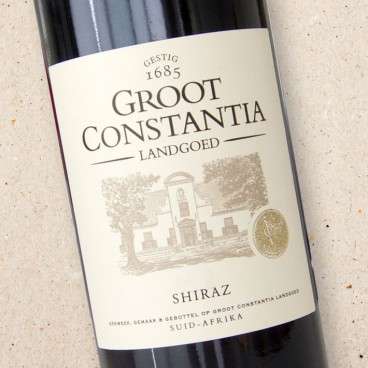 Groot Constantia Shiraz