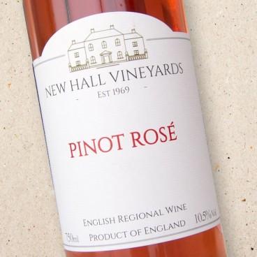 New Hall Vineyards Pinot Rosé