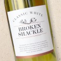 Broken Shackle Classic White 2019