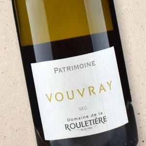 Domaine de la Rouletière Patrimonie Vouvray Sec 2015