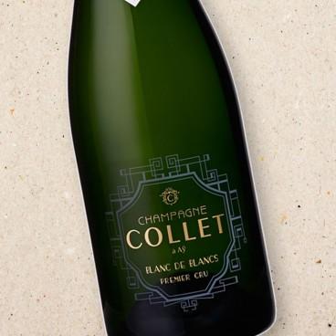 Champagne Collet Brut 1er Cru Blanc de Blancs