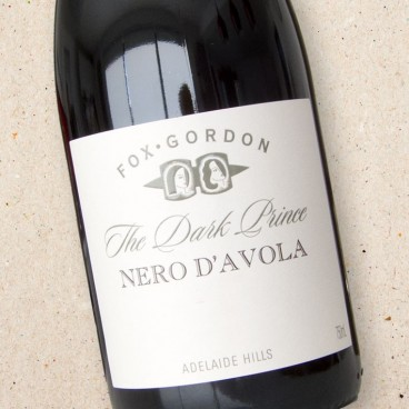 Fox Gordon The Dark Prince Nero d'Avola