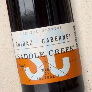Saddle Creek Shiraz Cabernet