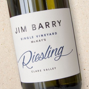 Jim Barry Single Vineyard Riesling Clare Valley