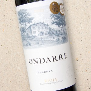 Bodegas Ondarre Rioja Reserva