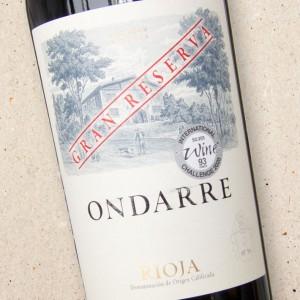 Bodegas Ondarre Rioja Gran Reserva
