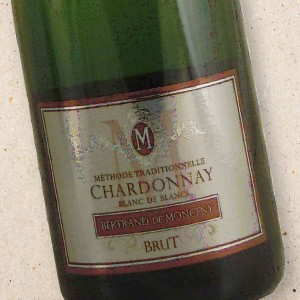 Bertrand de Monceny Methode Traditionelle Brut Blanc de Blancs NV