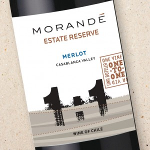 Morandé One To One Merlot Estate Reserve