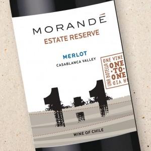 Morandé One To One Merlot Estate Reserve 2019